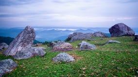 Камни на горах Стоковое Изображение RF