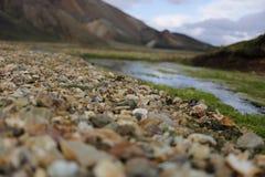 Камни на крае Стоковые Фотографии RF