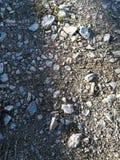 Камни на пути Стоковая Фотография