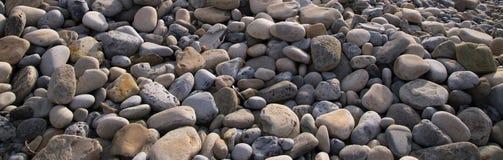 Камни на пляже Стоковая Фотография RF