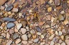Камни на речном береге Стоковое фото RF