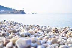 Камни на серповидном парке озера лун стоковые фото