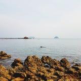 Камни на seashore Стоковое Фото