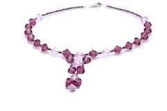 камни ожерелья цвета стеклянные Стоковое Изображение RF