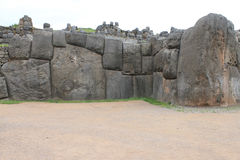 Камни отрезка ashlar Machu Picchu стоковая фотография rf