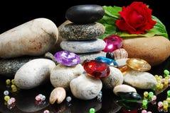 камни перл Стоковые Фотографии RF