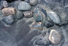 камни песка Стоковое фото RF