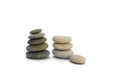 камни пирамидки Стоковое Фото