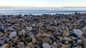 камни пляжа присутствующие Стоковое фото RF