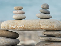 камни пляжа Стоковые Фото