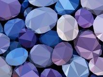 Камни предпосылки Стоковое Изображение