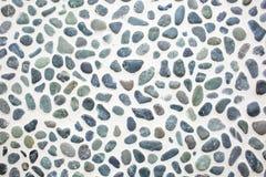 Камни против светлой предпосылки в дизайне интерьера Стоковые Изображения RF