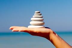 камни руки Стоковое Изображение