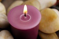 камни свечки Стоковые Фотографии RF