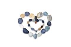 камни сердца состава Стоковые Фото