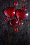 камни сердца стоковые фото