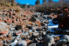 камни снежка Стоковые Фотографии RF