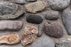 Камни справляясь предпосылки стоковые фотографии rf