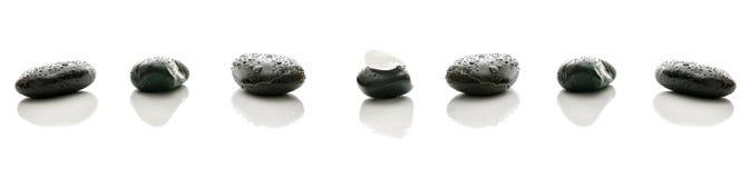 Камни спы Стоковая Фотография
