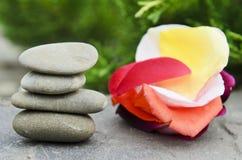 Камни спы Стоковая Фотография RF