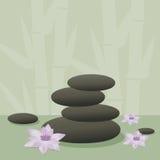 камни спы Стоковое Фото
