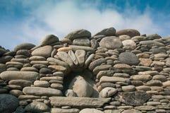 Камни стены, Корсика, Франция Стоковая Фотография