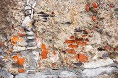 Камни текстурируют и предпосылка близкая текстура утеса вверх Стоковые Изображения