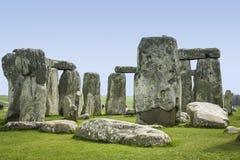 Камни Уилтшир Англия Стоунхенджа стоящие Стоковое Фото