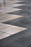 Камни улицы вымощая Стоковое Изображение RF