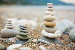 Камни Дзэн Стоковые Изображения