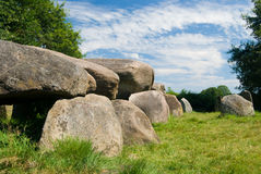 камни dolmen Стоковые Изображения RF