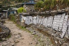 Камни Mani стоковое фото
