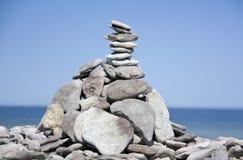 камни seashore Стоковые Изображения RF
