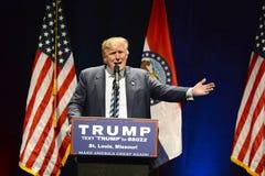 Кампании Дональд Трамп в Сент-Луис Стоковая Фотография RF