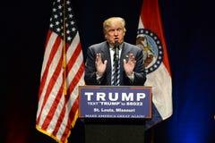 Кампании Дональд Трамп в Сент-Луис Стоковые Изображения RF