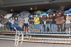Кампания 2014 бойкота класса Гонконга Стоковое Фото