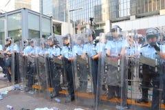 Кампания 2014 бойкота класса Гонконга Стоковые Изображения RF