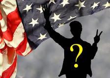 Кампания по выборам президента 2016 США: Козырь против Клинтона Стоковая Фотография