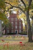 Кампус Гарвардского университета Стоковое фото RF