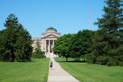 Кампус государственного университета Айовы стоковое изображение rf