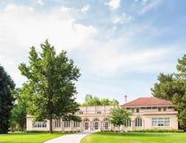 Кампус коллежа Стоковая Фотография RF