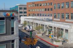 Кампус Сиэтл Google стоковая фотография rf