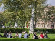 Кампус Университета Южной Калифорнии Стоковое Изображение