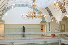 кампус charles bulfinch конструировал университет harvard залы обнаруженный местонахождение наземным ориентиром национальный Стоковые Фото