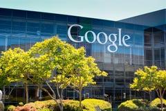 Кампус Google стоковые изображения