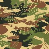 Камуфлирование и полутоновое изображение делают по образцу предпосылку безшовную, clothi маски бесплатная иллюстрация