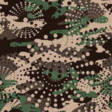 Камуфлирование и полутоновое изображение делают по образцу предпосылку безшовную, clothi маски иллюстрация вектора