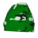 Камуфлирование шляпы зимы Стоковые Фотографии RF