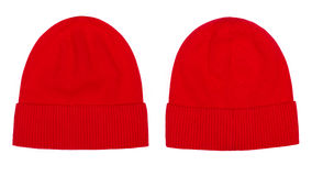 Камуфлирование шляпы зимы Стоковое Изображение