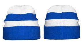 Камуфлирование шляпы зимы Стоковые Изображения